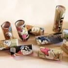 Knutselen met kinderen: kralen van papier