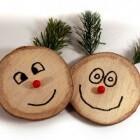 Wenskaarten: kerstkaarten maken met gerecycleerd materiaal