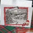 Kerstkaarten recycleren en kaartjes maken na de feesten