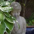 Een Boeddhabeeld in huis of tuin
