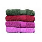 Handdoeken: diverse soorten en maten, meestal van badstof