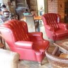 Rood in het interieur