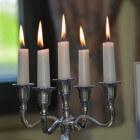 Romantische verlichting met kaarsen