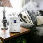 Luchtbevochtiger: Apparaat dat luchtvochtigheid verhoogt