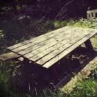 Tuinmeubelen en loungesets reinigen