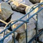 Schanskorven voor erfafscheiding, tuinbank of waterelement
