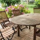 Prieel, loungehoek, tuinpaviljoen en overkapping in de tuin