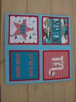 een schilderij van stof voor de baby- of kinderkamer maken | huis, Deco ideeën