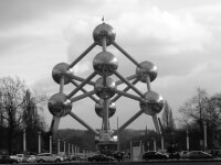 Atomium in Brussel / Bron: Roly-sisaphus, Flickr (CC BY-SA-2.0)